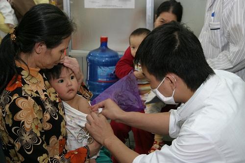 23 triệu trẻ em được tiêm vaccine sởi- rubella miễn phí